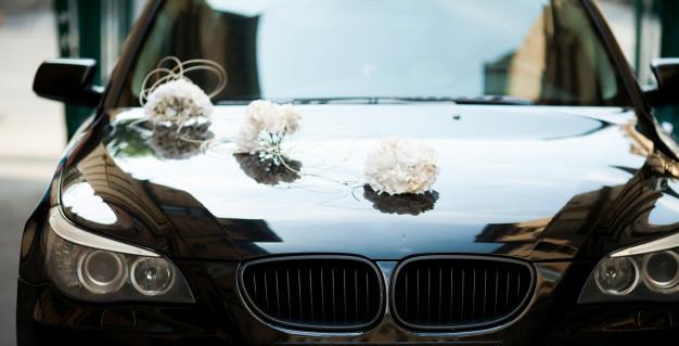 Coche de lujo para boda en Valladolid