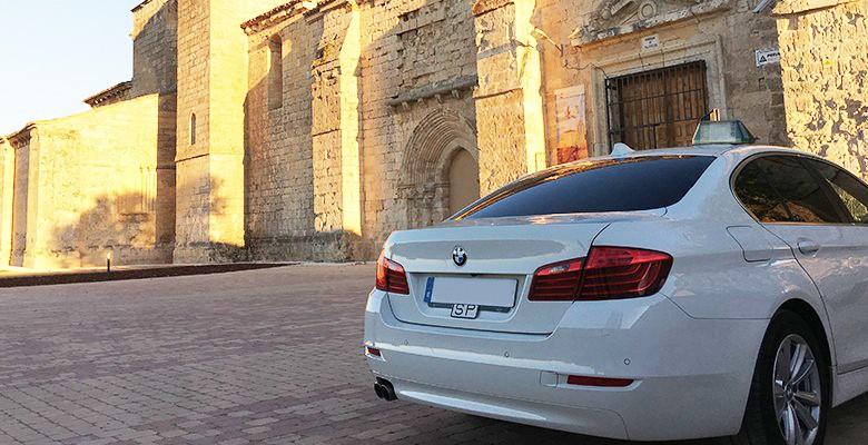 Taxi para hacer turismo en Valladolid